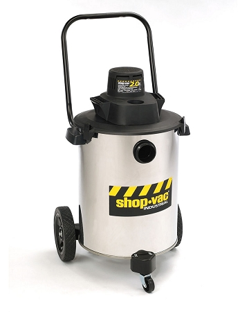shopvac contractor duty 10 gallon stainless steel wetdry vacuum 20 peak hp two stage motor