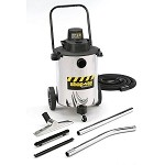 Shop-Vac Contractor Duty 10 Gallon Stainless Steel Wet/Dry Vacuum - 2.0 Peak HP Two Stage Motor