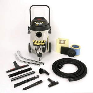 Shop-Vac Industrial Multi-Purpose 10 Gallon Stainless Steel Wet/Dry Vacuum - 2.5 Peak HP Two-Stage Motor
