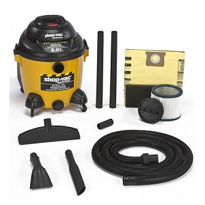 Shop-Vac Right Stuff Specialty 10 Gallon Drywall Vacuum - 5.0 Peak HP